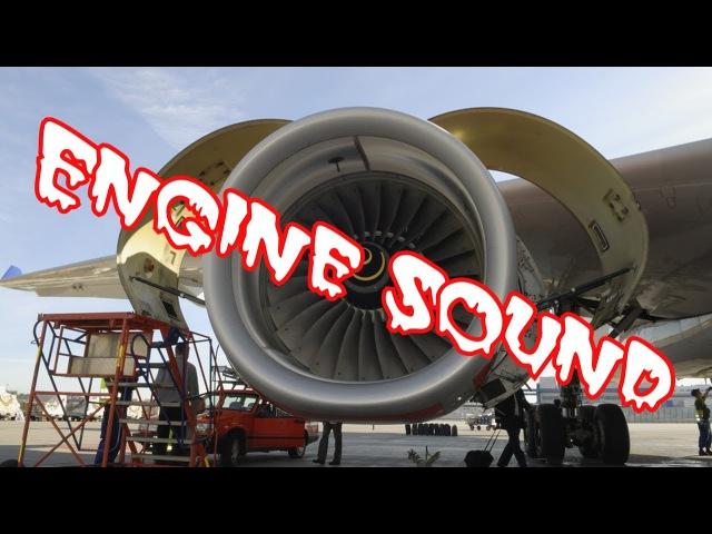 The Sound of large Engines Звук больших двигателей