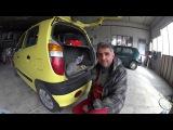 Hyundai Atos хендай атос замена лампачек задних фар