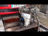 Снимаем двигатель Hyundai Atos Prime 1 1 2007