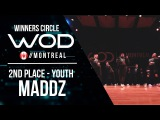 MADDZ  2nd Place Youth  World of Dance Montreal Qualifier 2017  Winners Circle  #WODMTL17