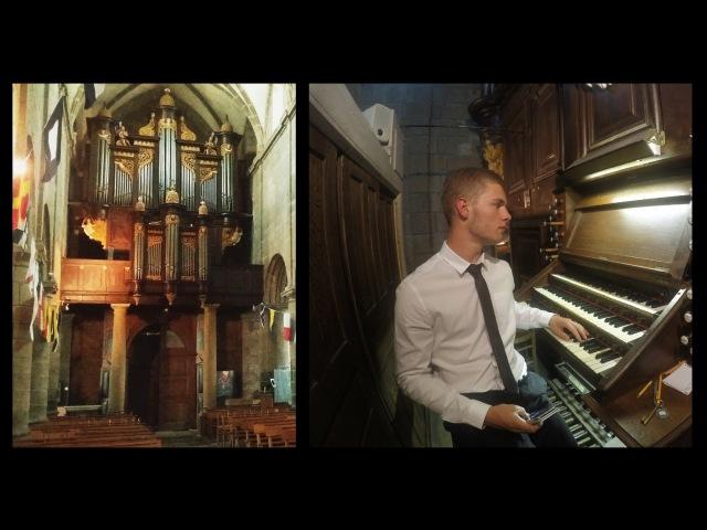 Introdution-Choral Menuet de la Suite Gothique de Léon Boëllmann - Guillaume LB