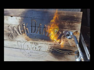 How to Make a Drinks Cabinet out of FREE Pallets Jack Daniels Wall Sign