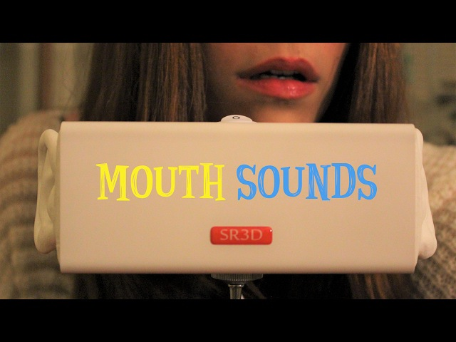 ASMR ☾ Mouth Sounds ~ Kisses, Ear Eating, Noms Breathing - Binaural