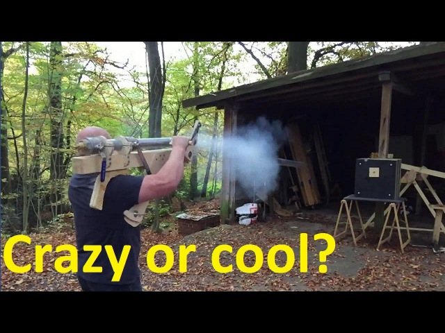 Airzooka - The biggest portable airgun in history?