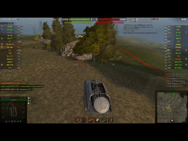 Покатушки во взводе Часть 6 World of tanks - Бои НА Арте