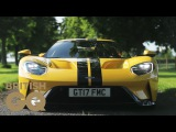 Ford GT First Test Drive on UK Roads GQ Cars British GQ