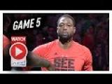 Dwyane Wade Full Game 5 Highlights vs Celtics 2017 Playoffs - 26 Pts, 11 Reb, 8 Ast