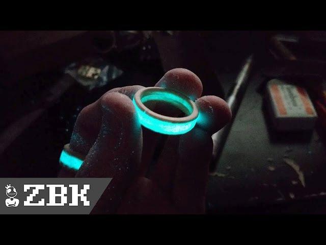 [트룩톤] 빛나는 나무 반지를 만들어 보았다/glow wood ring