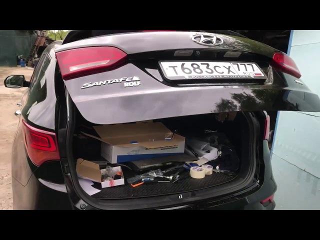 Электропривод багажника Hyundai Santa Fe Premium 2016 v 2 1