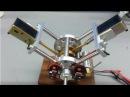 Двух цилиндровый электромагнитный Соленоидный двигатель