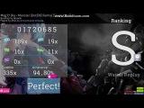 osu! Meg &amp Dia - Monster (DotEXE Remix)Siegs Hard+HD-FC94,80