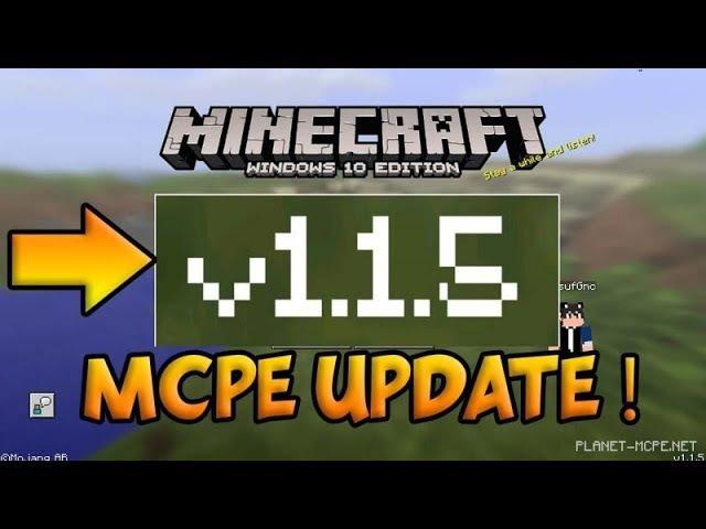 Вышла новая версия minecraft pe - 1.1.5.1