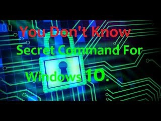 Windows | How to Use Basic Command Prompt (CMD) Commands in Windows 10 | Tutorials For Windows 10.