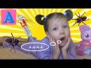 Укусил ПАУК Делаем УКОЛ В ПОПУ Играем в доктора/Spiders Attack Girl Needle in BUTT Play Doctor