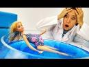 Видео для девочек. Барби готовится к родам ГИМНАСТИКА И АКВААЭРОБИКА💦 Мультик ...