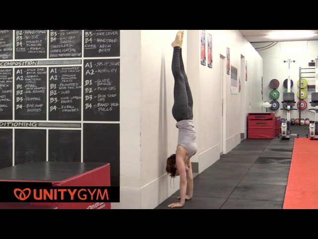 Perfect You Handstand | FMS Back To Wall Scissor Kick Jump To Handstand | TEASER