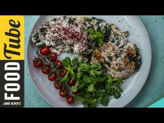 Egg White Omelette with Middle Eastern Flavours | Dalia Dogmoch