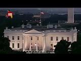 СМИ показали видео странных красных вспышек в Белом доме