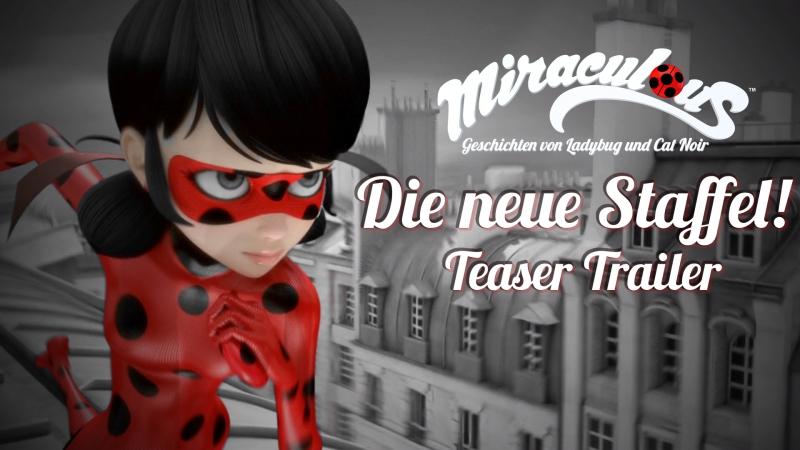 Miraculous Ladybug - Staffel 2: Teaser Trailer