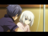Date A Live Shido came to see Origami at the hospital (English Dub)