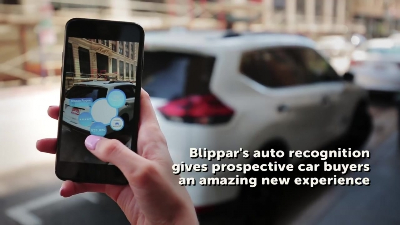 Blippar Introduces Automotive Recognition using Computer Vision Augmented Reality