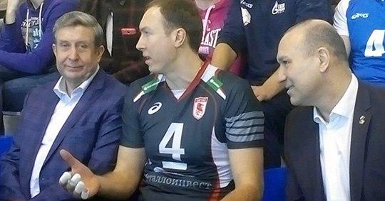Волейболисты Тетюхин иХтей дали вБрянске мастер-класс