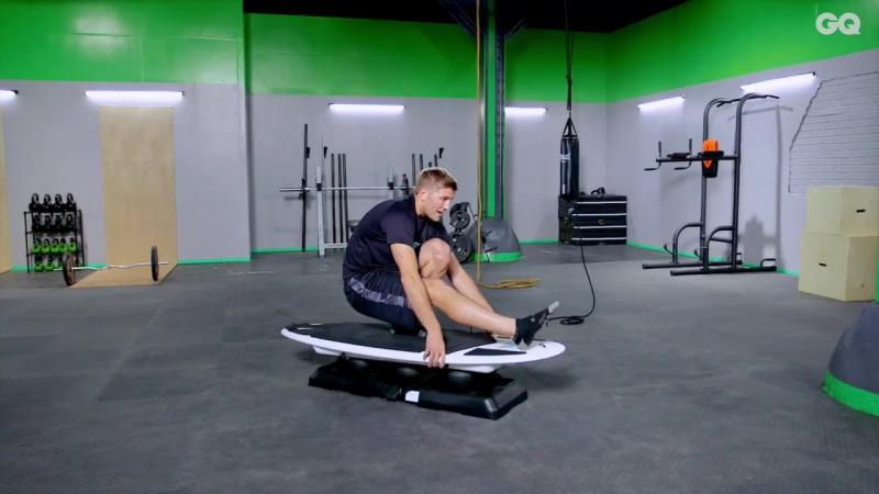 Бой с весом_ тренировки на баланс серфсет-2