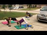 Комплекс Упражнений для Всей Семьи [ Тренировка на улице ] ТоталФит