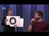 Daniel Radcliffe зачитал алфавит