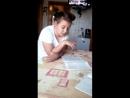 Борьба девочки с домашкой