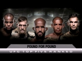 TOP 5 p4p UFC FIGHTERS - highlights