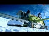 Top Gear - 16 сезон 7 серия (Ведущие превратили комбайн в снегоочиститель) [перевод Россия 2]