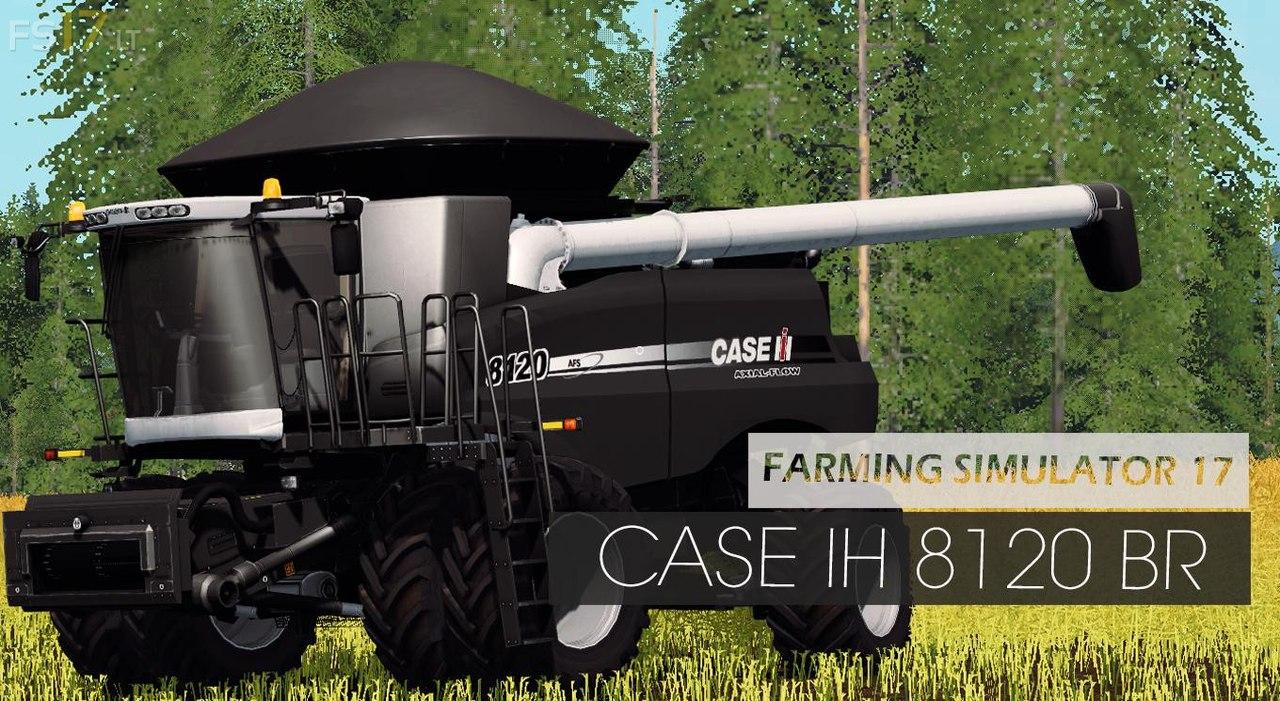 Комбайн Case IH 8120 BR