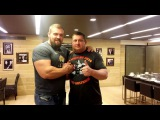 Интервью Кирилл Сарычев и Влад Алхазов