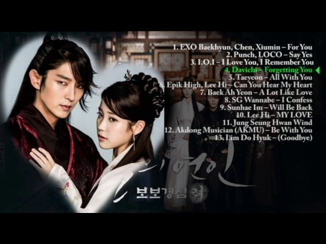 Moon Lovers : Scarlet Heart Ryeo Ost Full Album