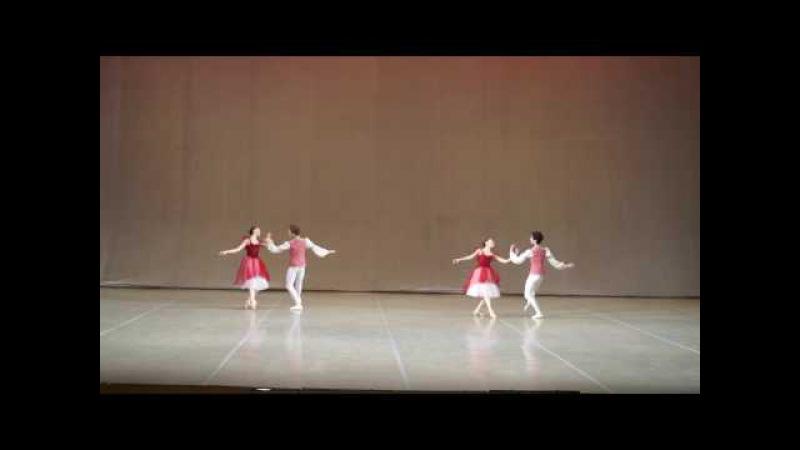 МГАХ. Гавот XVIII века. Историко-бытовой танец.