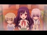 Tenshi no 3P! 6 серия русская озвучка Mutsuko Air / Ангельское трио 06 / А вот и три ангела!