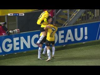 Samenvatting van de wedstrijd NAC Breda - FC Emmen (speelronde 19)