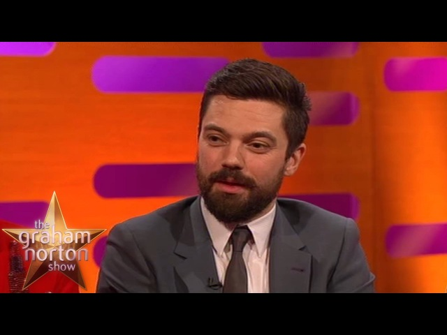 Dominic Cooper Accidentally Exposes Himself - The Graham Norton Show