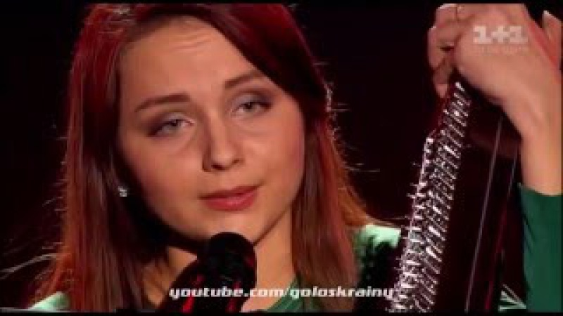 Инна Ищенко 'Пливе кача' Голос країни-6