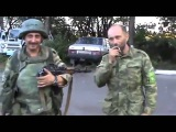 Донецк, Шахтёрск. Репортаж с 20-го блокпоста 310714.