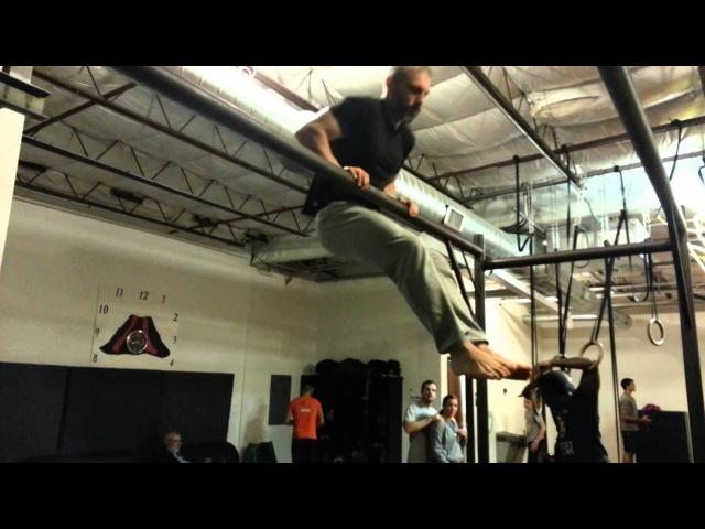Calisthenics exercises: Waist Pull-ups