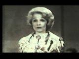 Marlene Dietrich UNICEF GALA 1962