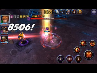 Эльза Т2 vs Танос Инфинити