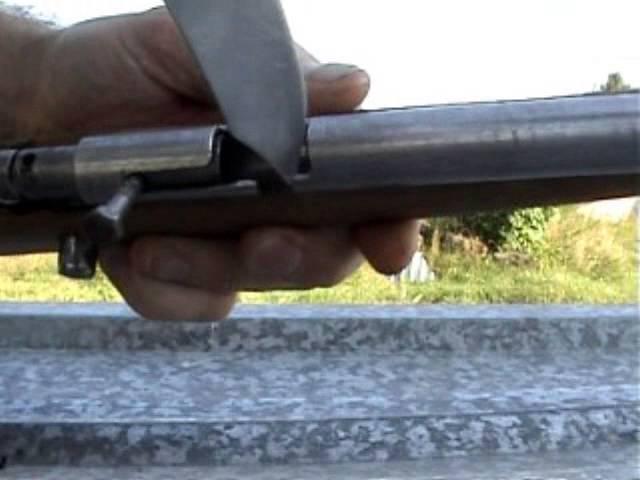 самопал пистолет мелкашка 5.6мм.