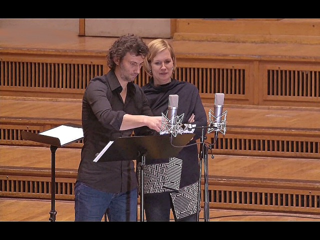 Jonas Kaufmann Julia Kleiter⭐Im Tonstudio/aus Korngolds 'Tote Stadt'