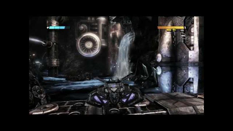 Прохождение игры Трансформеры Битва за Кибертрон часть 2
