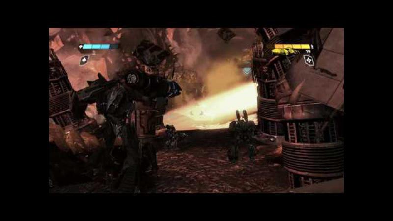 Прохождение игры Трансформеры Битва за Кибертрон часть 1