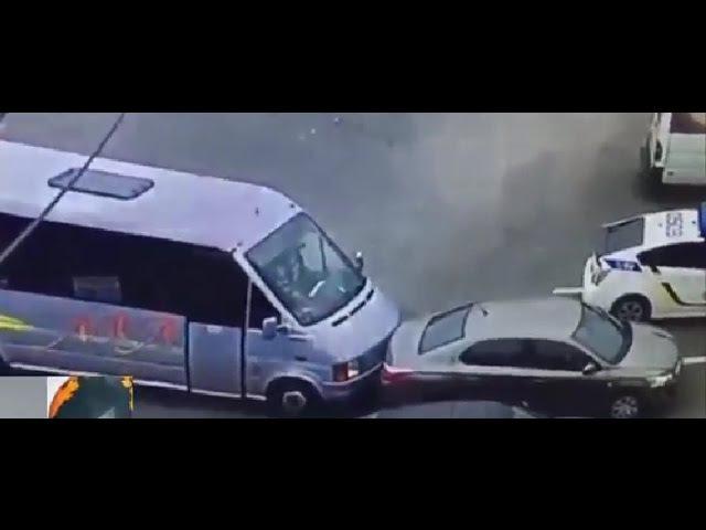 Новые детали убийства Полицейских в Днепре поведал водитель маршрутки, заблоки...