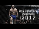 Top 5 Fighters of UFC Welterweight 2017